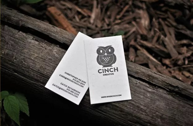 Owl business cards1 - Creative Owl Business Card Designs