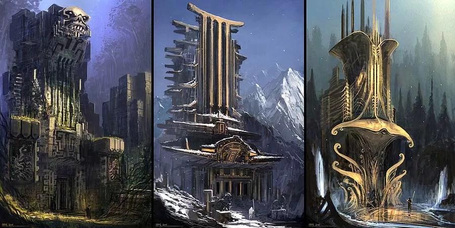 12.Concept designer Feng Zhu - Artwork of concept designer Feng Zhu