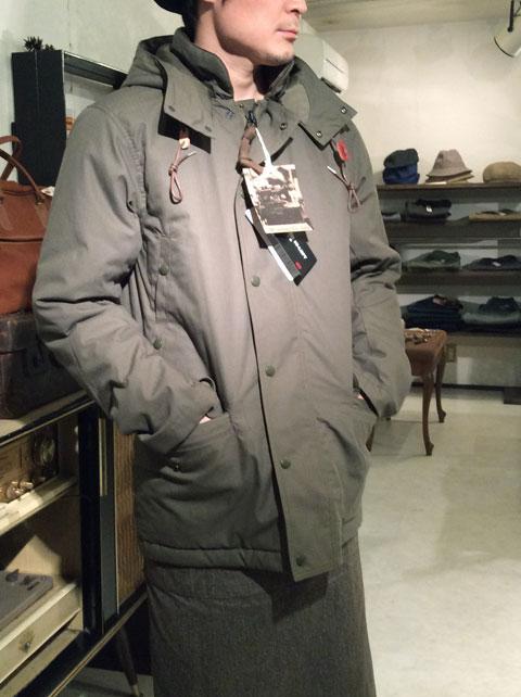 N-3 Puff Jacket,Khaki