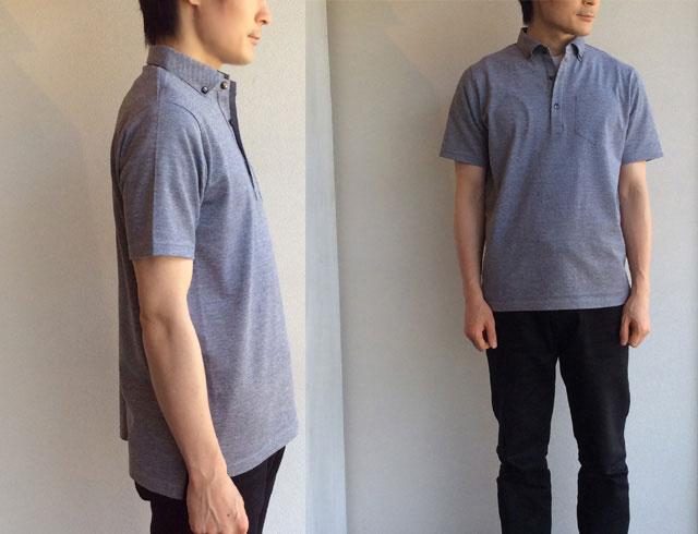 Tシャツ試着画像