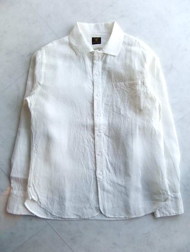linen easy shirt