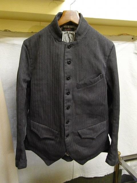 french worquera jacket 1770 dark grey/DjangoAtour ANOTHERLINE