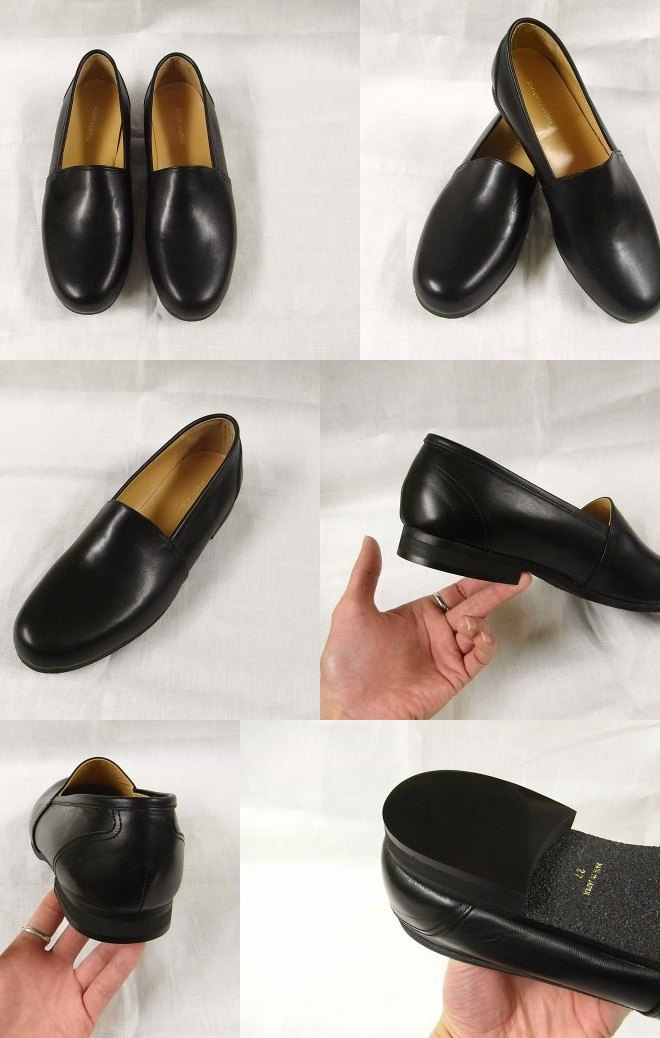 slip on kipleather shoes