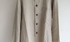 farmers heavylinen shirt ecru