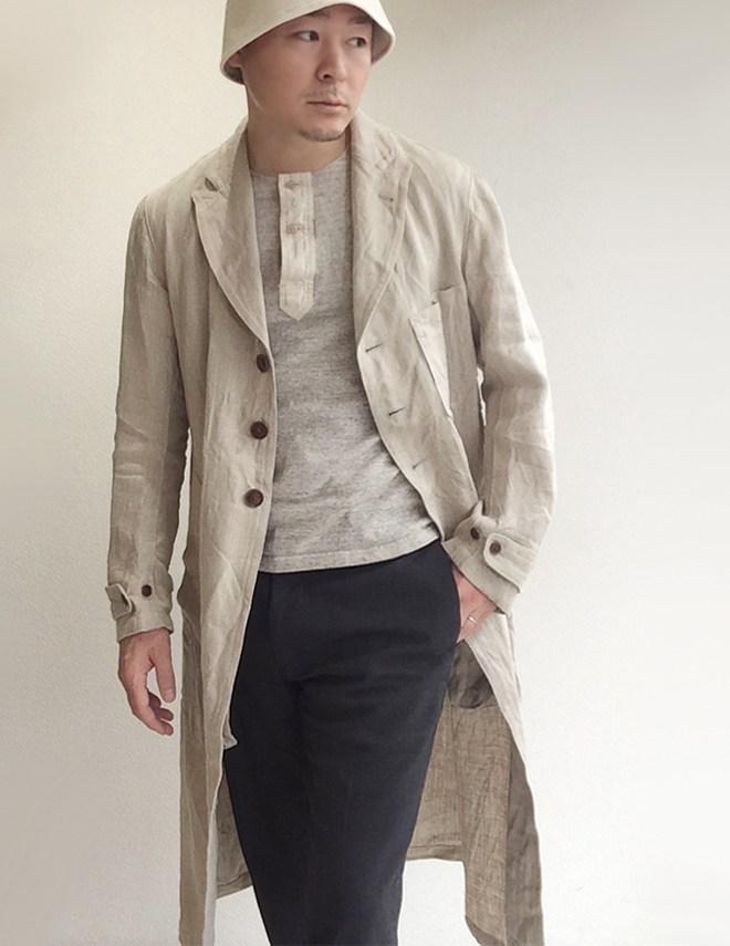 DjangoAtour heavylinen coat