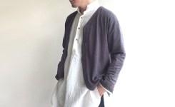 DA linenjersy cutaway cardigan