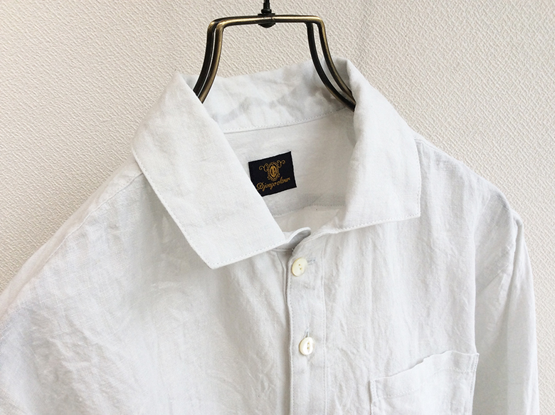 DA linen Easy Shirt Snow White