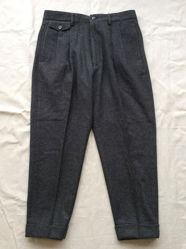 リビエラ トラウザー グレー Riviera Trousers Grey/KAPTAIN SUNSHINE