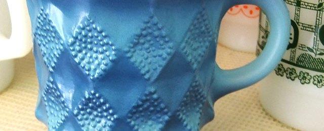 ファイヤーキングキンバリーマグ青