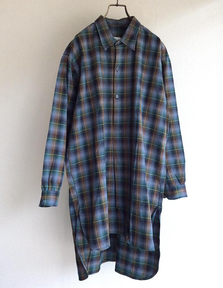 1960's Dead Stock French Farmer's Shirt