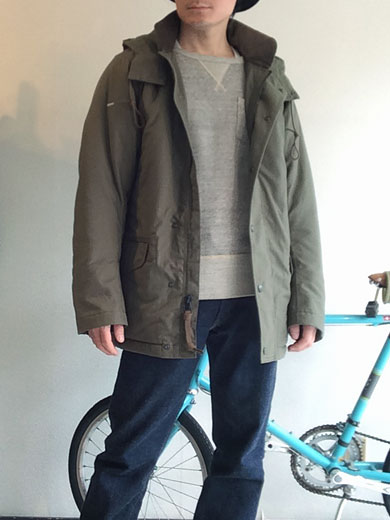N-3 Puff Jacket,Khaki/Workers