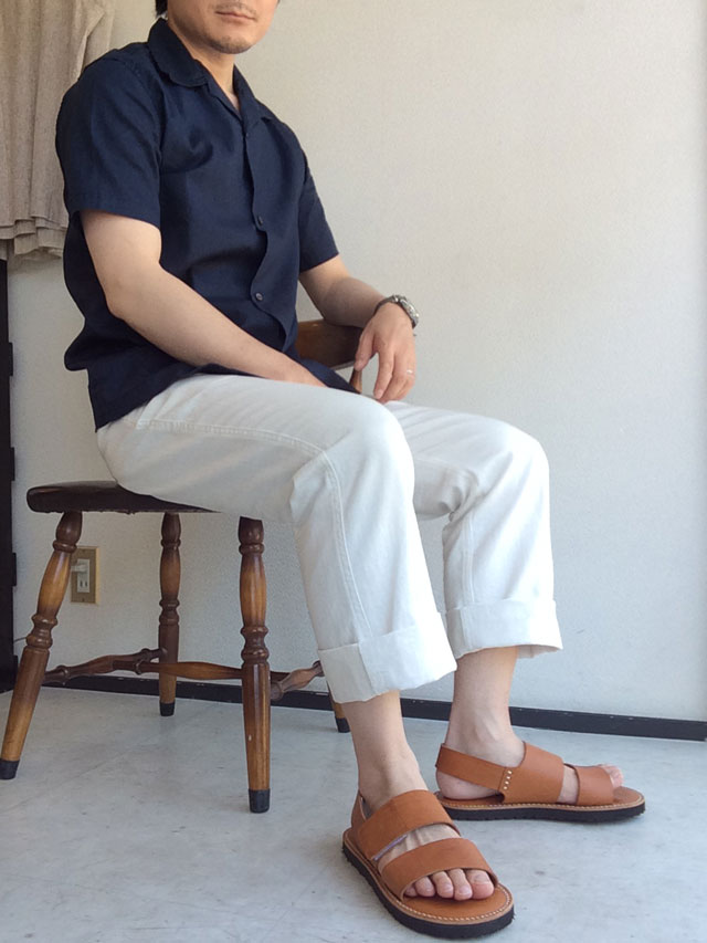 WORKERSのOpen Collar Shirt
