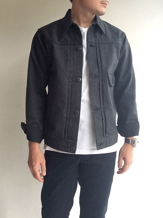Cowboy Jacket 13 oz, Cotton Serge/Workers
