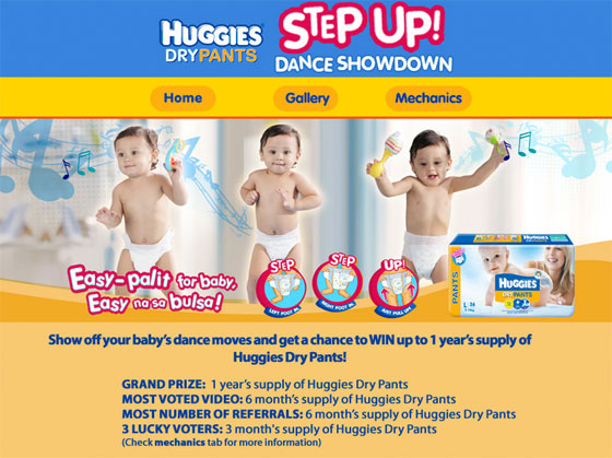 Huggies Dance Showdown