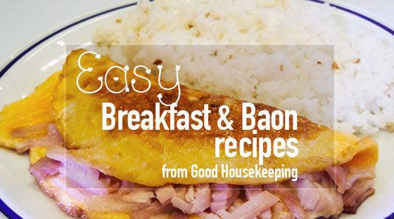 Good Housekeeping Breakfast & Baon in a Breeze