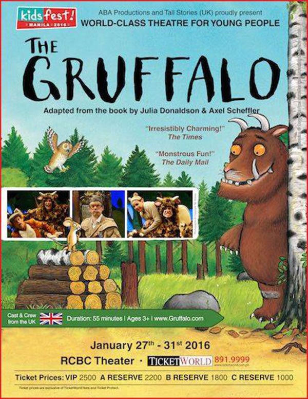 The Gruffalo - Live in Manila!