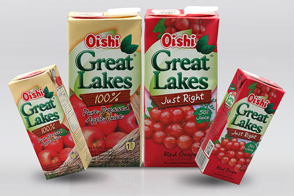 Oishi Great Lakes, Nature's Goodness in Every Sip