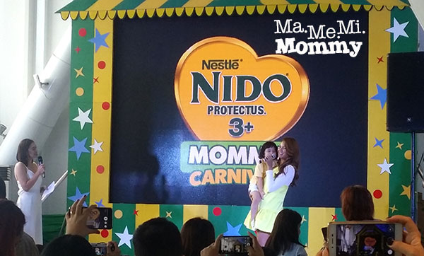 Nido endorsers Sarah Lahbati and son, Zion