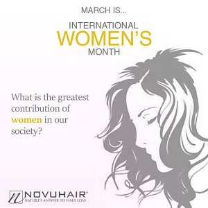Novuhair salutes all Women