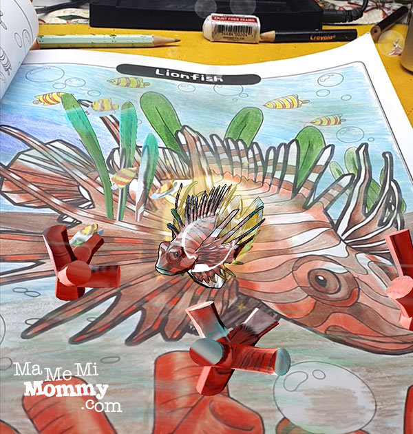 Lionfish coming to life!