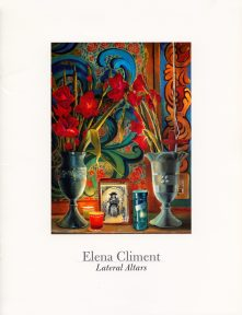 Cover of a catalogue of the works of Elena Climent