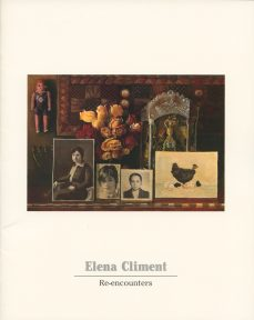 The cover of a catalogue of works by Elena Climent.