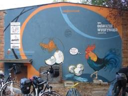 Muralesy ODWAZNI październik 2011