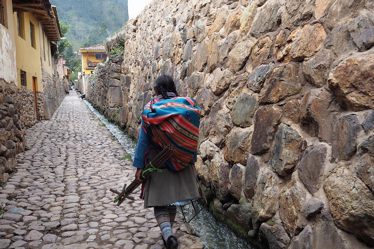 Heiliges Tal der Inka Ollantaytambo