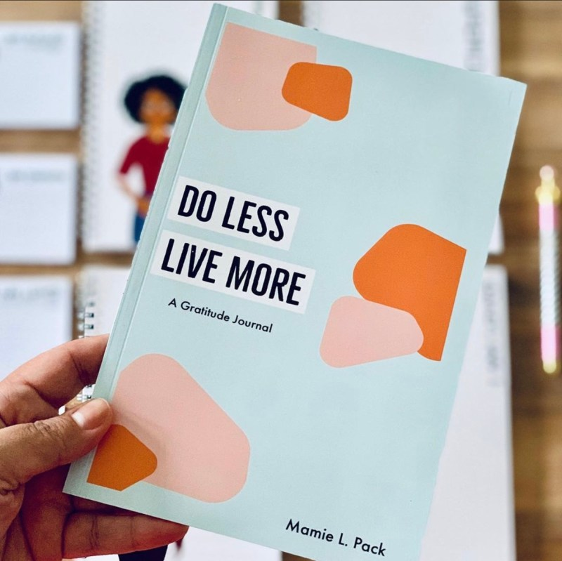 do less live more journal