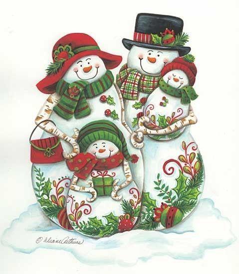 FETE : NOEL bonhommes de neige
