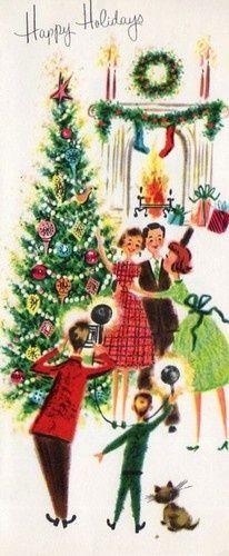 Fete Noel Vintage Gifs Images