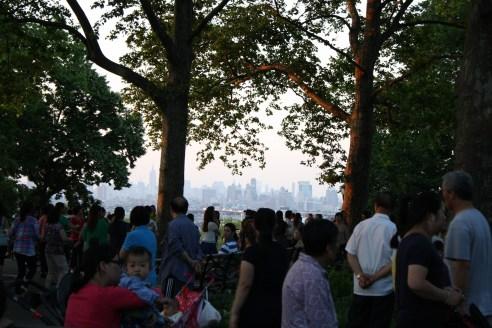 Tarde de verano en el parque Sunset.