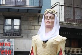 Los Gigantes de Pamplona, con sus 153 años de historia, son uno de los símbolos más emblemáticos de la fiesta.
