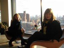 2007. En Bumble and Bumble de Chelsea en Nueva York.