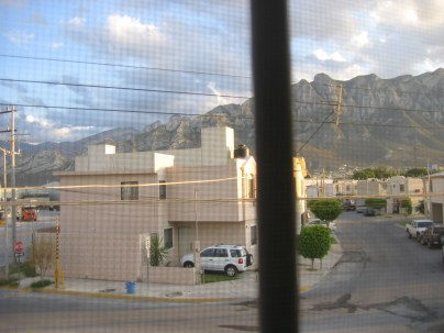 Vista desde la recámara principal