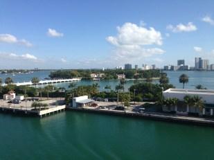 Saliendo de Miami