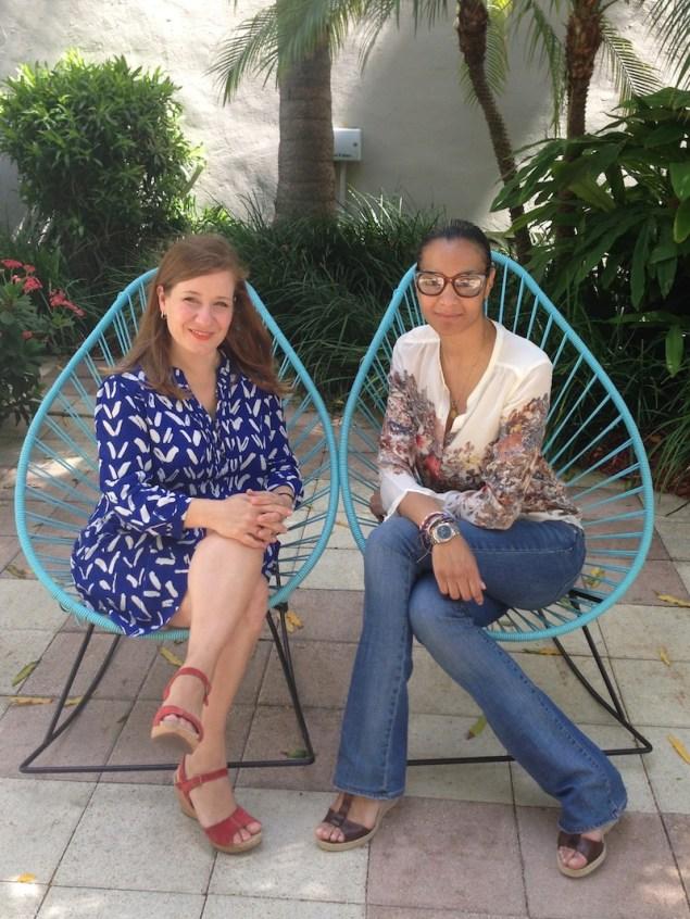 Entrevista que tuve con la diseñadora italo-haitiana Stella Jean en el hotel Surfcomber.