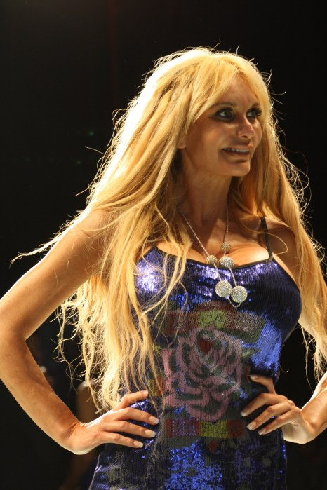 Asistente a la Miami Fashion Week 2014