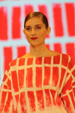 Los estampados es un tema que Ágatha ha retomado al celebrar más de tres décadas como diseñadora.