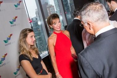La gala se realizó en el Hotel Mandarin Oriental de la Ciudad de Nueva York.