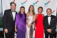 Steve Shindler, Patricia Janiot, Angélica Ocampo, Ana María Diniz y Eduardo Tricio Haro.