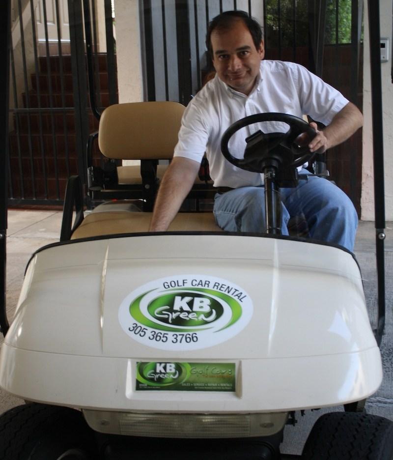Key Biscayne visto desde un carrito de golf - Mami Glammy