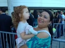 """Mis """"dates"""" de la noche: Cristina y Caro, su nanny."""