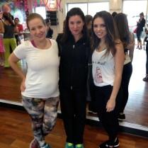 Con mis amigas blogueras Claudia Solis, de Mami en Transición, y Daniela Ramírez Nouel, de Nany's Klozet