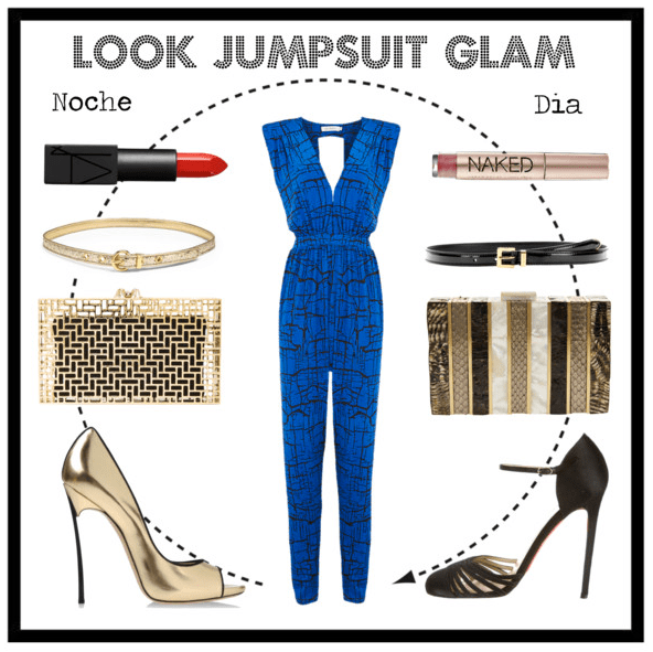 Look jumpsuit glam
