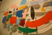 Esta obra le gustó especialmente a Cristina, pues podíamos identificar muy fácilmente las formas y los colores.