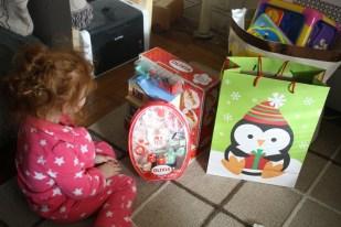 Los regalos que recibió Crisstina.