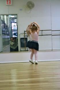 Como toda una bailarina