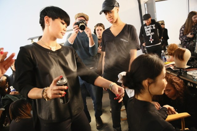 TRESemme at Marissa Webb AW'15 - Backstage/Front Row