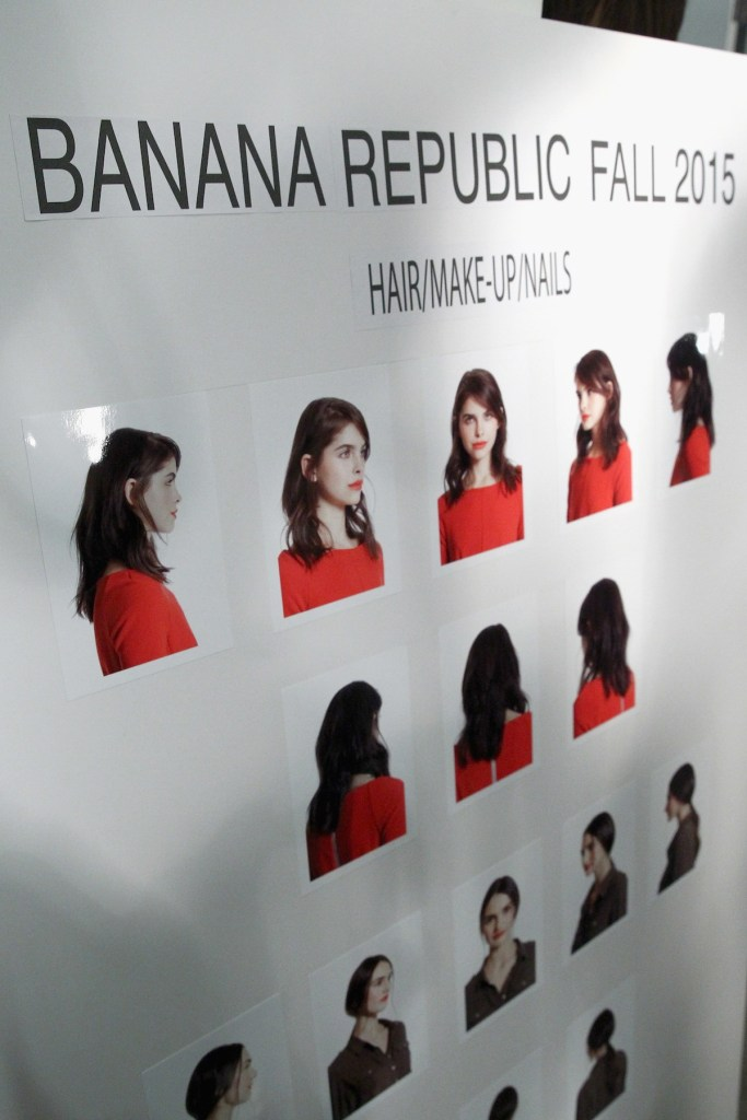 TRESemme at Banana Republic AW'15 Presentation